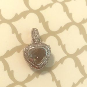 Judith Ripka Gemstone Heart Enhancer